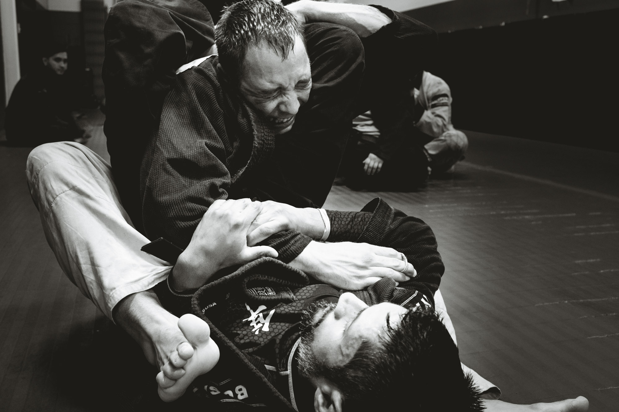 Juan Arreguin triangle chokes Cooper