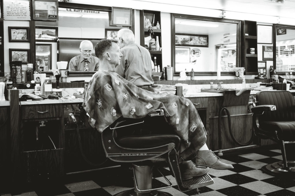 A Barber // A Little Piece of the Past