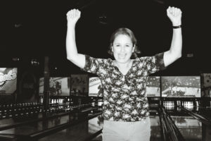 Mom after getting a strike