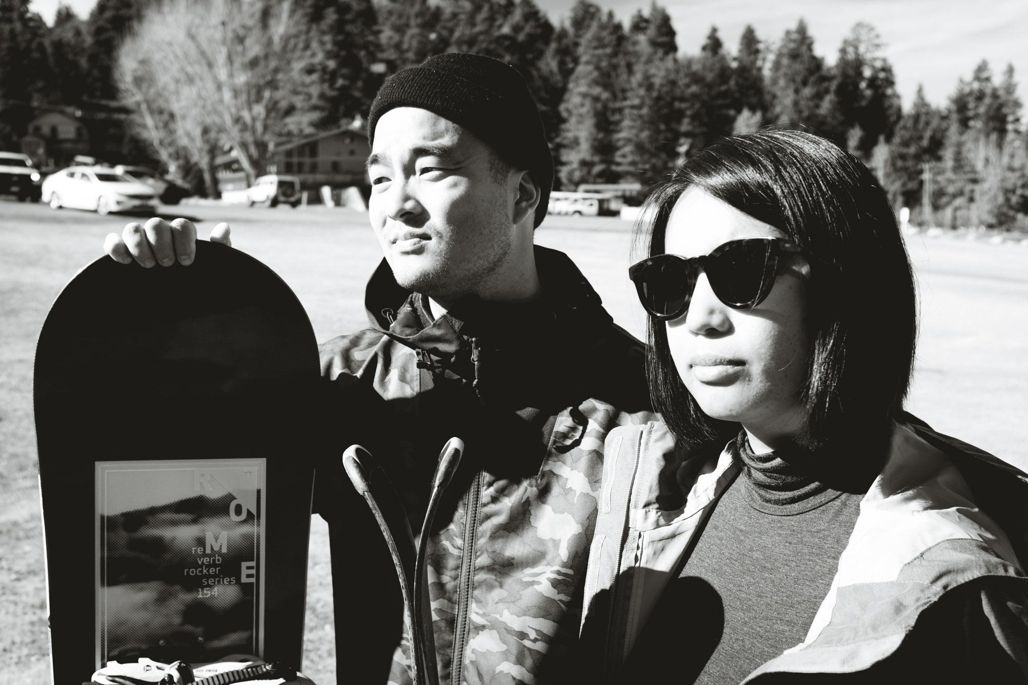 Charles and Marianne in Big Bear