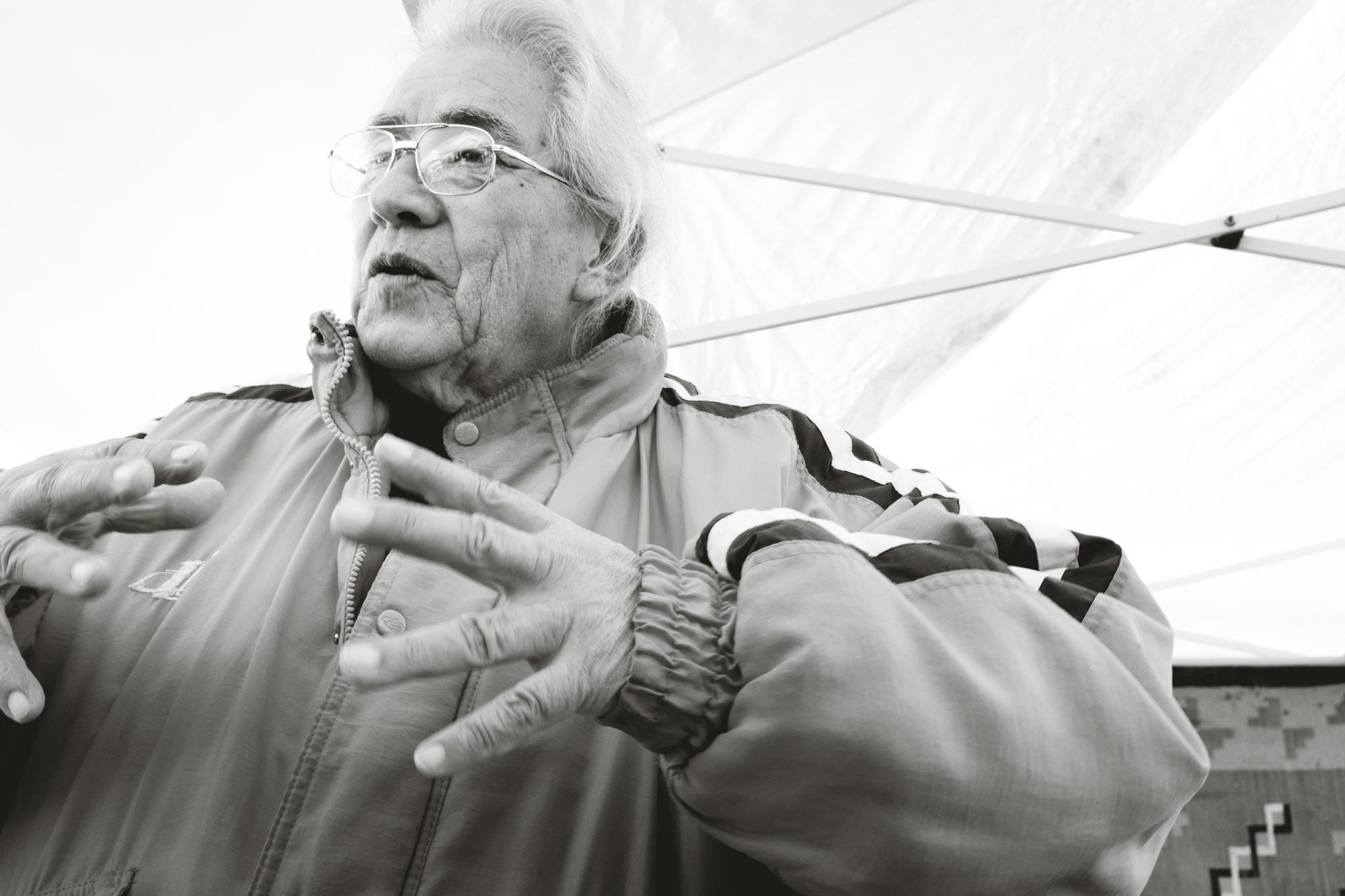 Native MAerican Man at Long Beach Antique Swap Meet