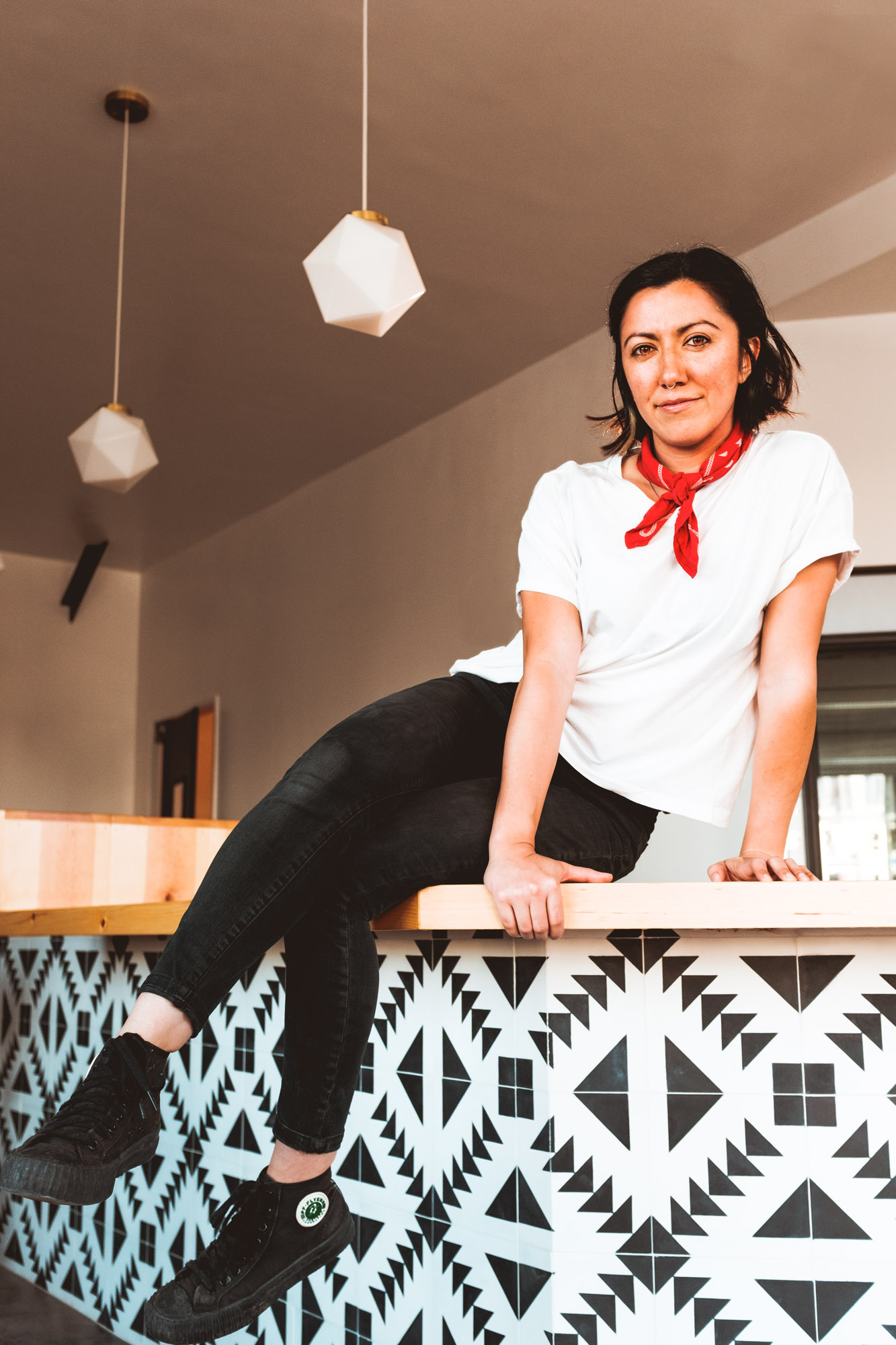 Angela-Almaguer-Salud-Sitting-Counter