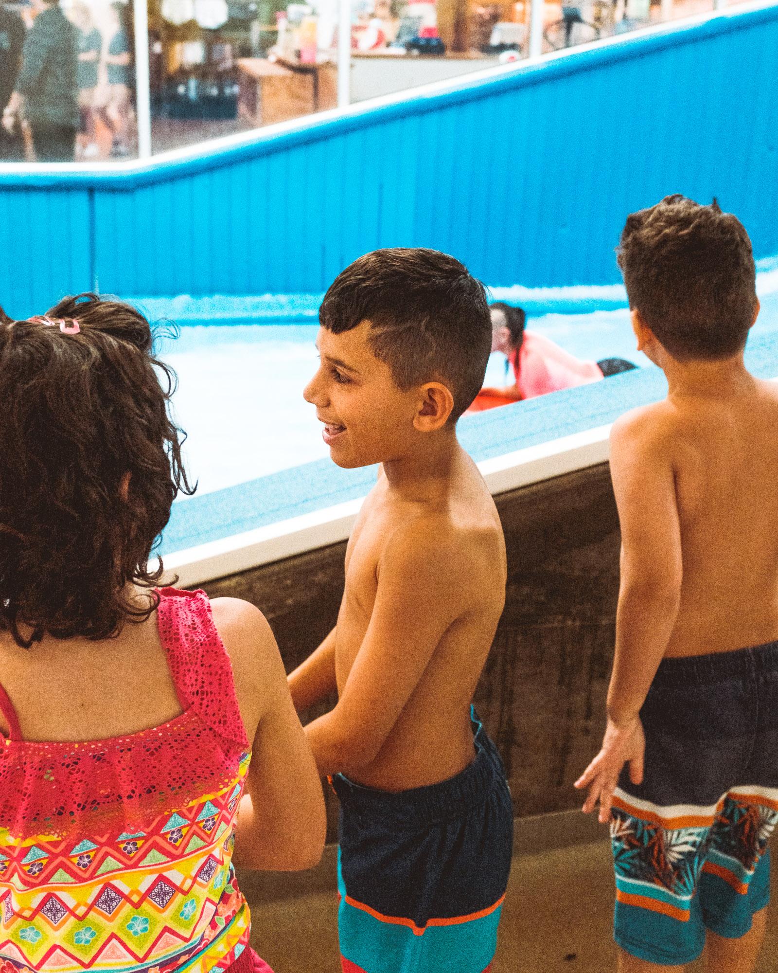 Kids Flowboarding
