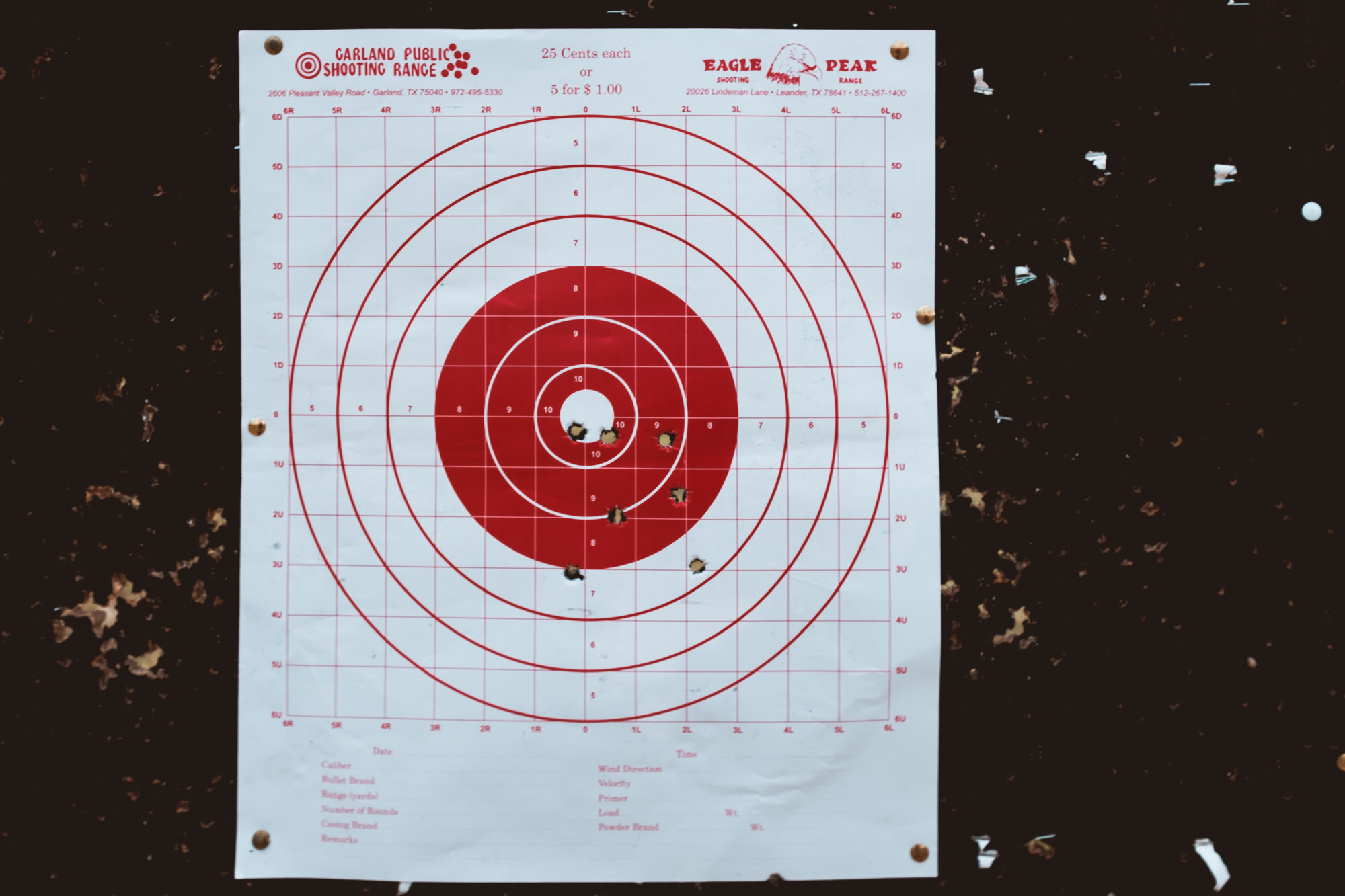 Bullseye Garland Shooting Range