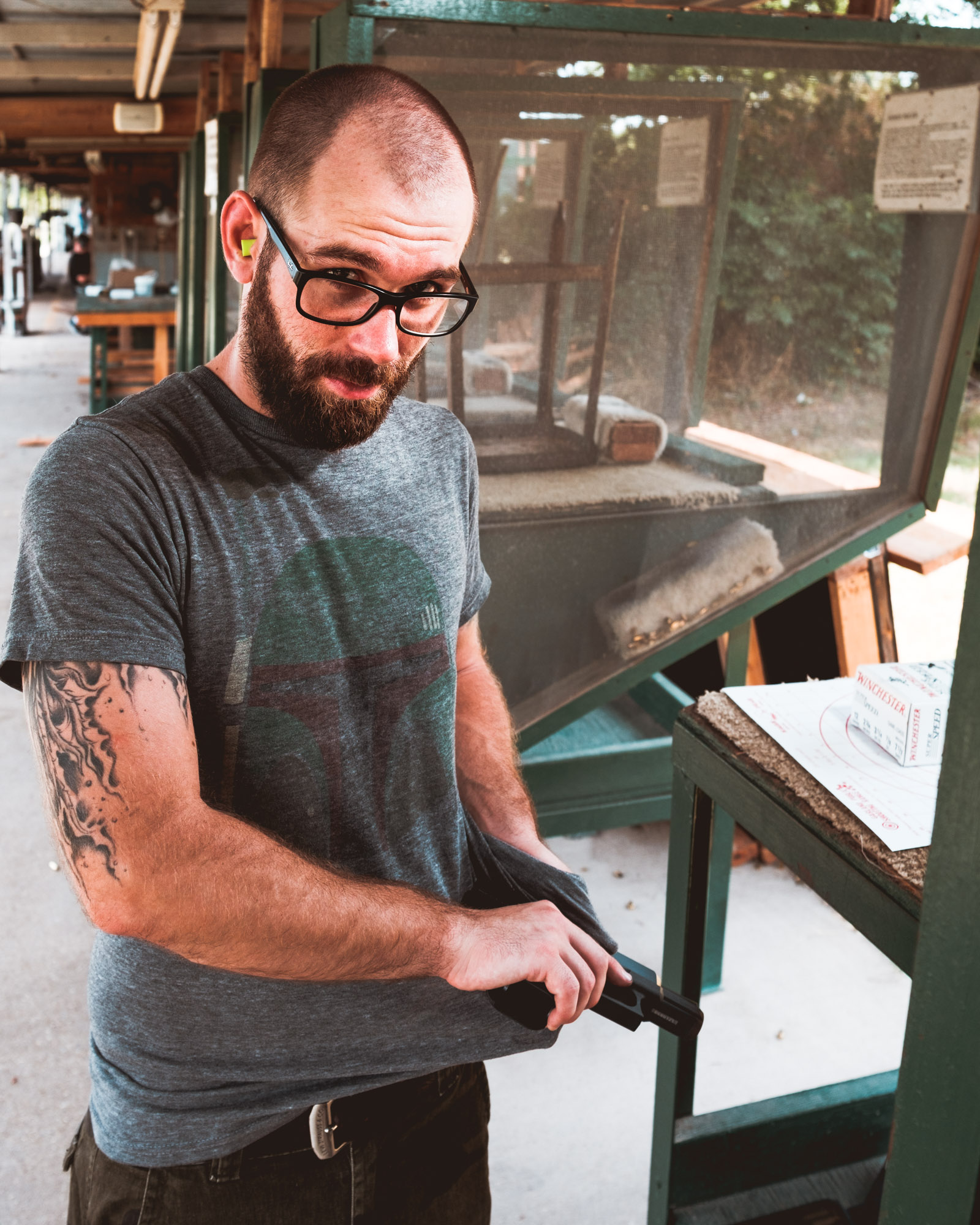 Bob Allard Glock 9mm Garland Shooting Range