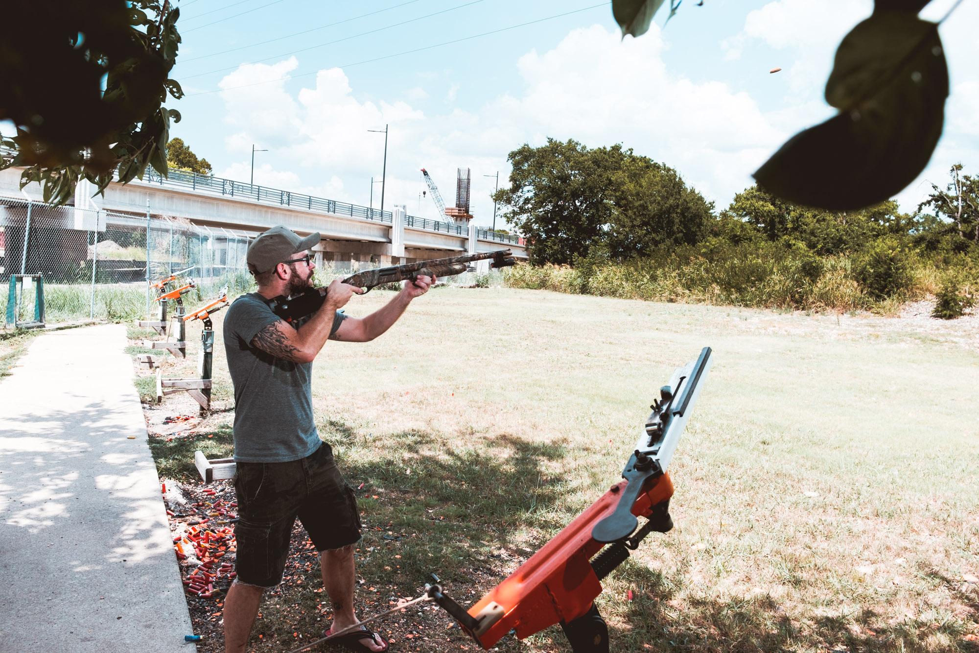 Bob 12 Gauge Shotgun Garland Shooting Range