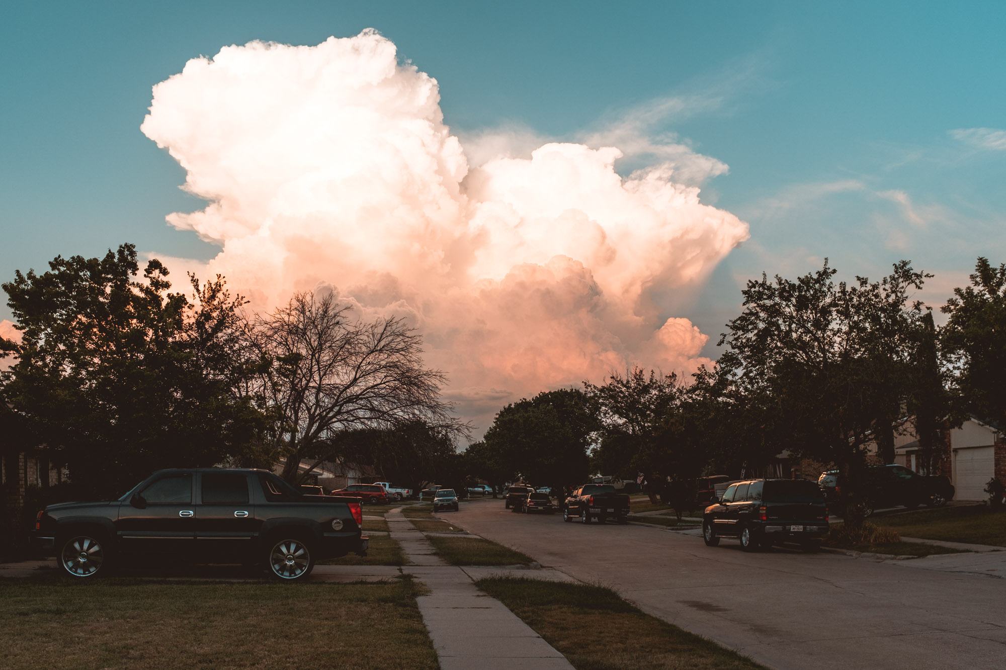 Clouds in Texas